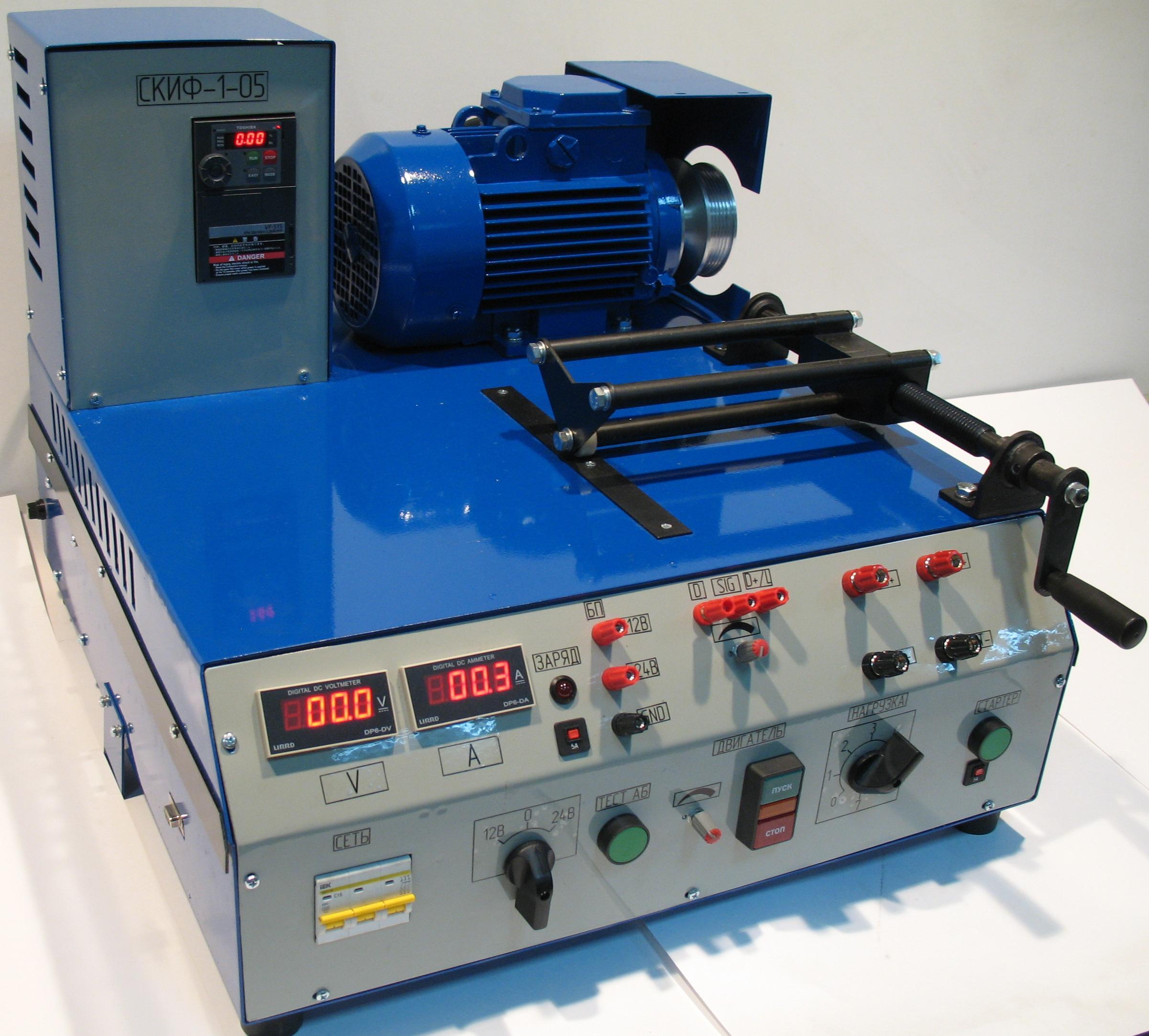 Станок для проверки генераторов своими руками 3